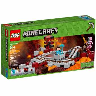 Конструктор LEGO Minecraft 21130 Подземная железная дорога