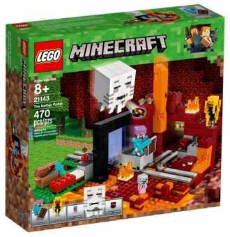 Конструктор LEGO Minecraft 21143 Портал в Подземелье