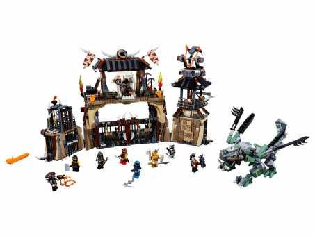 Конструктор LEGO Ninjago 70655 Пещера драконов