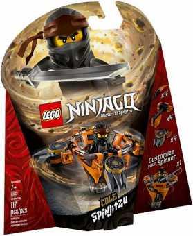 Конструктор LEGO Ninjago 70662 Ниндзяго Коул: мастер Кружитцу