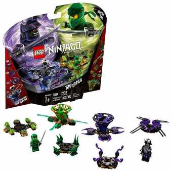 Конструктор LEGO Ninjago 70664 Ллойд мастер Кружитцу против Гармадона