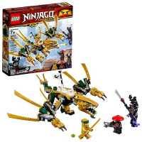 Конструктор LEGO Ninjago 70666  Ниндзяго Золотой Дракон