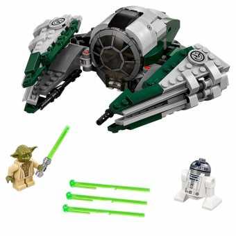 Конструктор LEGO Star Wars 75168 Звёздный истребитель Йоды