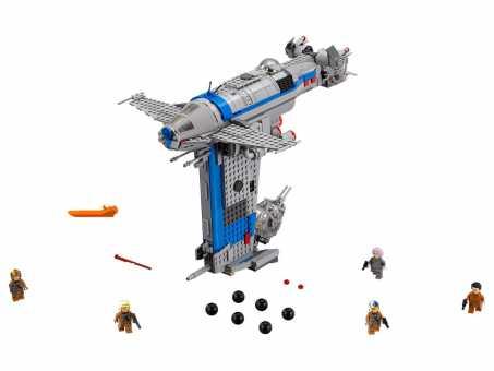 Конструктор LEGO Star Wars 75188 Бомбардировщик Сопротивления