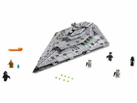 Конструктор LEGO Star Wars 75190 Звездный разрушитель Первого Ордена