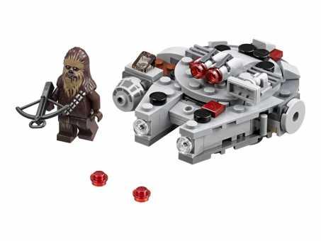 Конструктор LEGO Star Wars 75193 Микрофайтер Сокол Тысячелетия