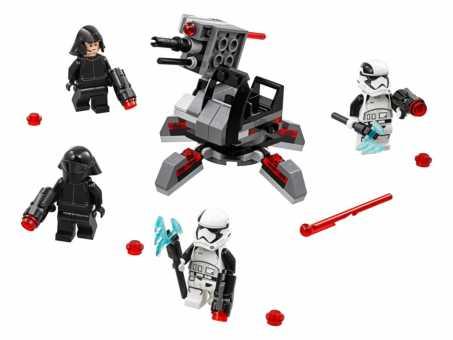 Конструктор LEGO Star Wars 75197 Боевой набор специалистов Первого Ордена