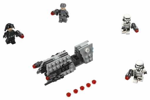 Конструктор LEGO Star Wars 75207 Боевой набор имперского патруля