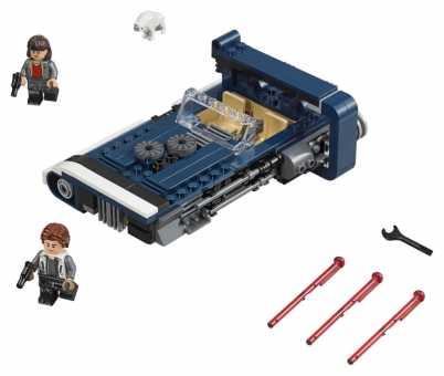 Конструктор LEGO Star Wars 75209 Спидер Хана Cоло