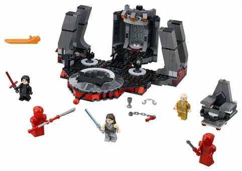 Конструктор LEGO Star Wars 75216 Тронный зал Сноука