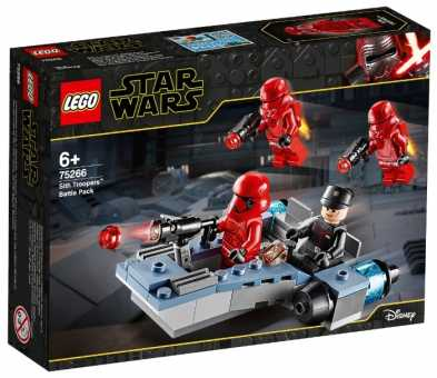 Конструктор LEGO Star Wars 75266 Episode IX Боевой набор: штурмовики ситхов