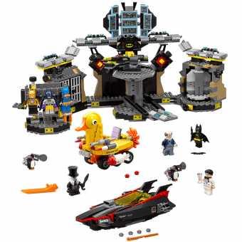 Конструктор LEGO The Batman Movie 70909 Взлом Бэтпещеры