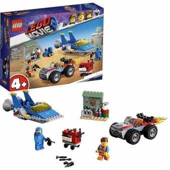 Конструктор LEGO The LEGO Movie 70821 Мастерская «Строим и чиним» Эммета и Бенни