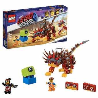 Конструктор LEGO The LEGO Movie 70827 Ультра-Киса и воин Люси