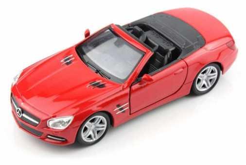 Легковой автомобиль Welly Mercedes-Benz SL500 (18046C) 1:18