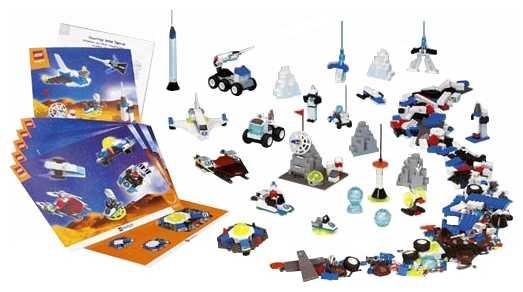 Конструктор LEGO Education StoryStarter 9320 Путешествие в космос