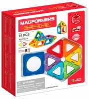 Магнитный конструктор Magformers Basic Plus 715013-14