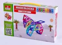 Магнитный конструктор Magic blocks , 35 шт.