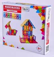 Магнитный конструктор Magic blocks , 56 шт.