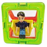 Квадрат с мальчиком - деталь магнитного конструктора