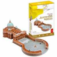Пазл CubicFun Собор Святого Петра, Ватикан, Италия (MC092h) , элементов: 144 шт.