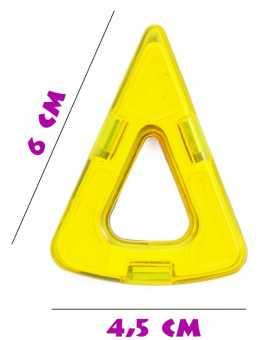Мини сектор - деталь магнитного конструктора
