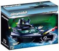 Набор с элементами конструктора Playmobil Top Agents 4882 Боевой корабль бандитов