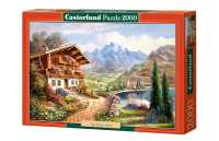 Пазл Castorland High Country Retreat Домик в горах (C-200511) , элементов: 2000 шт.