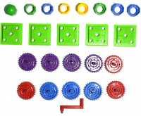 Пластиковая фурнитура Шестерёнки для магнитного конструктора