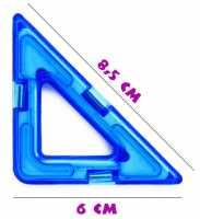 Прямоугольный треугольник - деталь магнитного конструктора