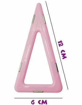 Равнобедренный треугольник (матовый) - деталь магнитного конструктора