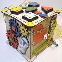 Развивающий бизи куб без световой индикации