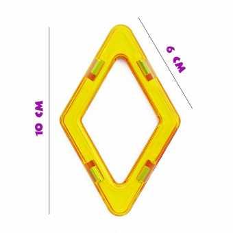 Ромб - деталь магнитного конструктора