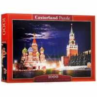 Пазл Castorland Red Square by Night in Moscow Красная Площадь (C-101788) , элементов: 1000 шт.