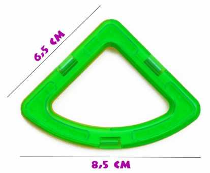 Сектор (премиум) - деталь магнитного конструктора