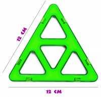 Супер треугольник (премиум) - деталь магнитного конструктора