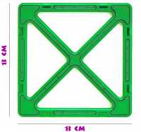Суперквадрат - деталь магнитного конструктора