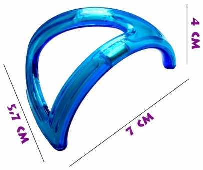 Треугольная арка - деталь магнитного конструктора