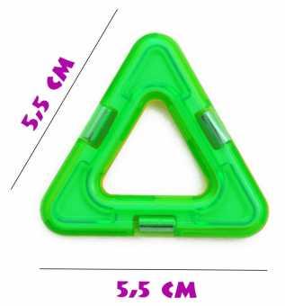 Треугольник  - деталь магнитного конструктора