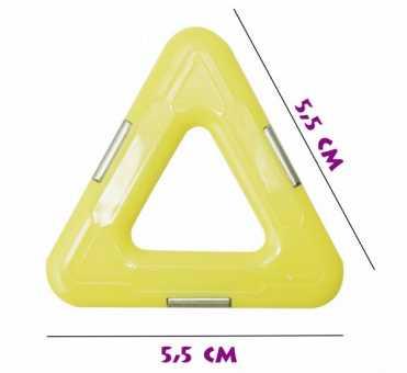 Треугольник (матовый) - деталь магнитного конструктора