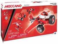 Винтовой конструктор Meccano Junior 15106 Авиация 4 в 1