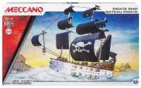 Винтовой конструктор Meccano STEM 14309 Пиратский корабль