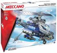 Винтовой конструктор Meccano STEM 15302 Военный вертолет